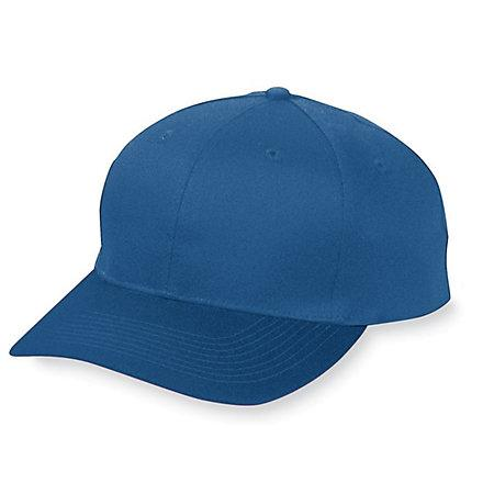 Six-Panel Cotton Twill Low-Profile Cap Navy Adult Baseball