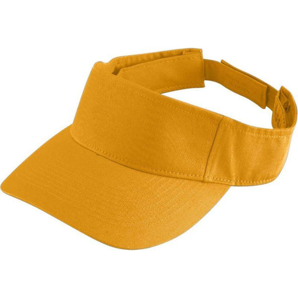 Youth Sport Twill Visor Gold Baseball