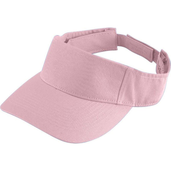 Youth Sport Twill Visor Light Pink Baseball