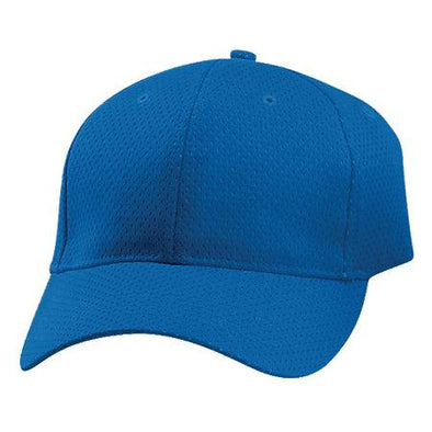 Sport Flex Athletic Mesh Cap Royal Adult Béisbol