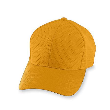 Athletic Mesh Cap Gold Adult Baseball
