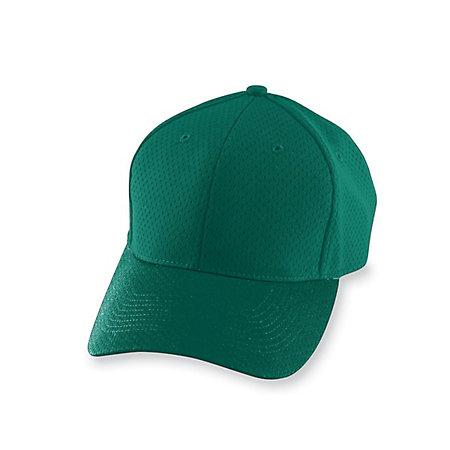 Athletic Mesh Cap Dark Green Adult Baseball