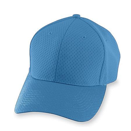 Athletic Mesh Cap Columbia Blue Adult Baseball