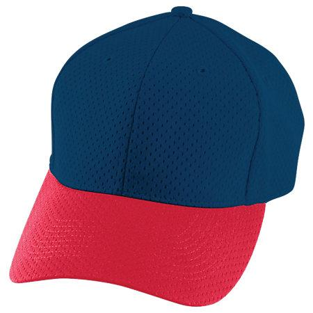 Athletic Mesh Cap Navy/red Adult Baseball