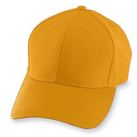 Athletic Mesh Cap-Youth Gold Béisbol Juvenil