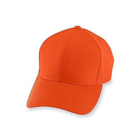 Athletic Mesh Cap-Youth Naranja Béisbol Juvenil