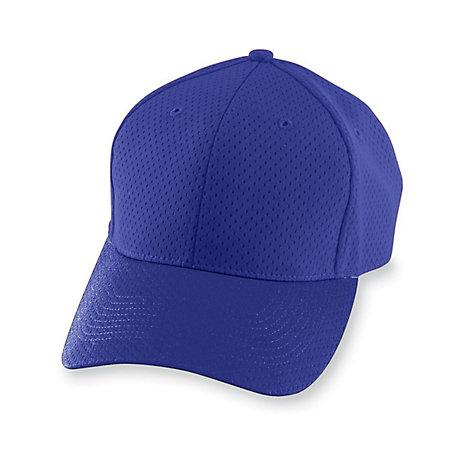 Athletic Mesh Cap-Youth Púrpura Béisbol Juvenil