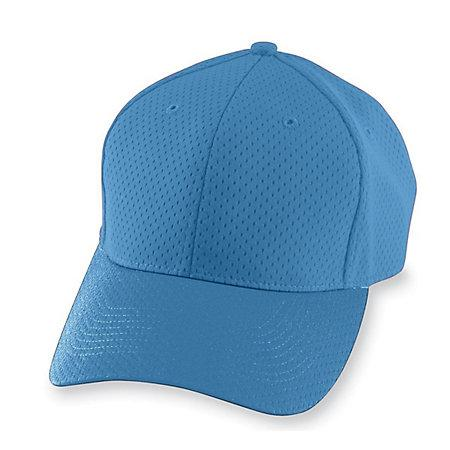 Athletic Mesh Cap-Youth Columbia Blue Béisbol Juvenil