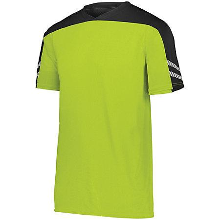 Youth Afield Soccer Jersey Lime/black/white Single & Shorts