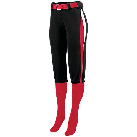 Ladies Comet Pant Black/red/white