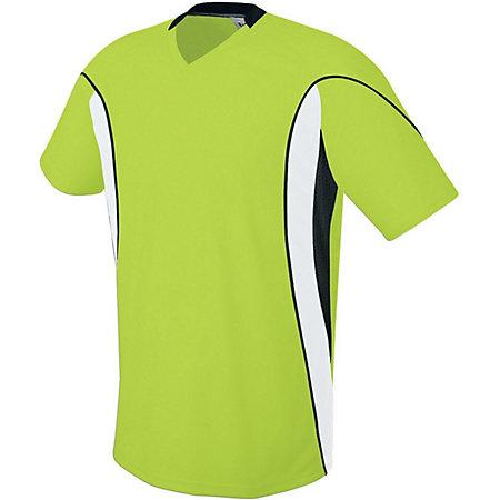 Helix Jersey Lime/white/black Adult Single Soccer & Shorts