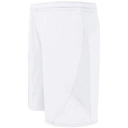 Club Shorts White/white Adult Single Soccer Jersey &