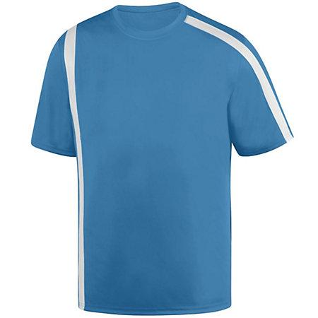 Youth Attacking Third Jersey Columbia Blue/white Single Soccer & Shorts