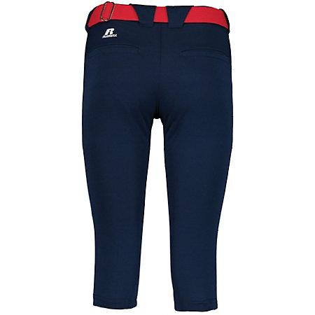 Ladies Low Rise Knicker Length Pant Softball