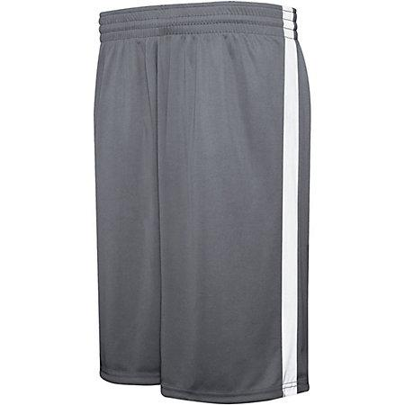 Competition Reversible Shorts Graphite/white Adult Basketball Single Jersey &
