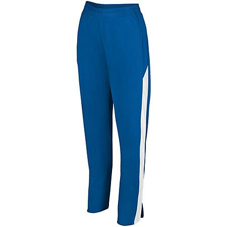 Ladies Medalist Pant 2.0 Royal/white Softball