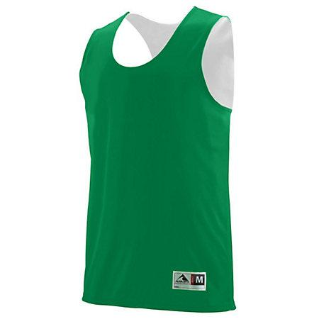 Youth Reversible Wicking Tank Kelly/white Basketball Single Jersey & Shorts