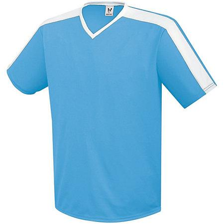 Youth Genesis Soccer Jersey Columbia Azul / blanco Single & Shorts