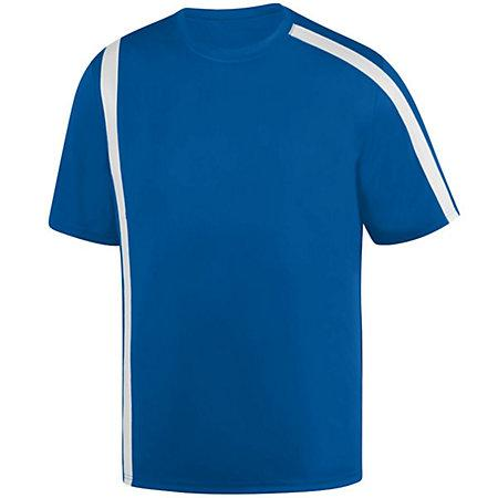 Youth Attacking Third Jersey Royal/white Single Soccer & Shorts