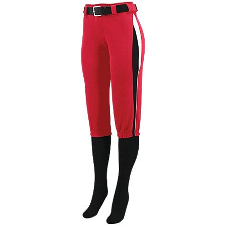 Ladies Comet Pant Red/black/white