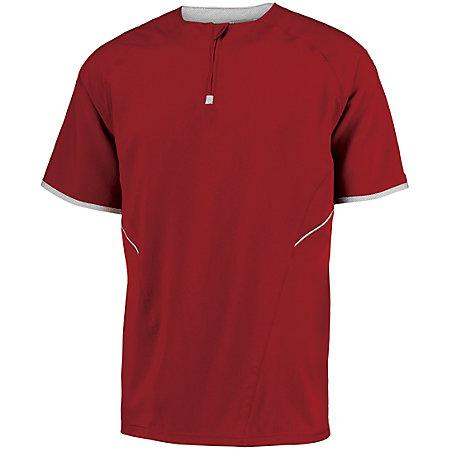 Short Sleeve Pullover Adult Baseball