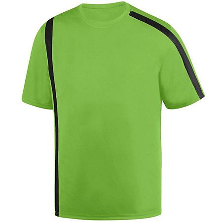 Youth Attacking Third Jersey Lime/black Single Soccer & Shorts