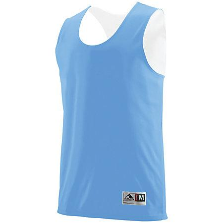 Youth Reversible Wicking Tank Columbia Blue/white Basketball Single Jersey & Shorts