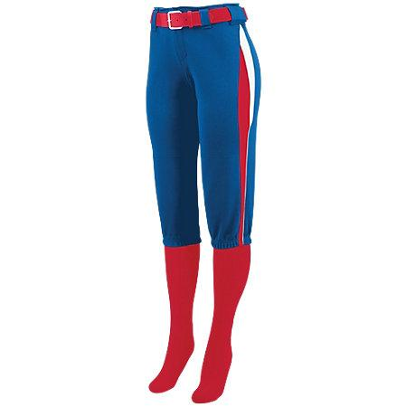 Ladies Comet Pant Royal/red/white