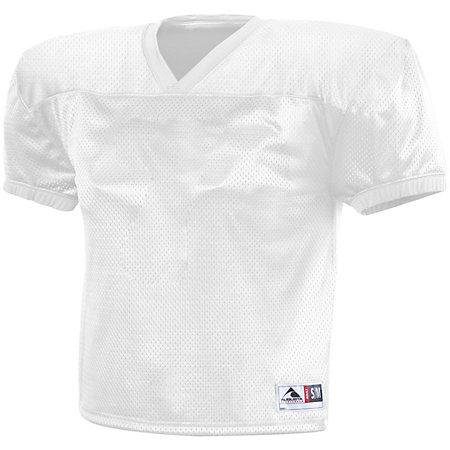 Dash Practice Jersey White Adult Football