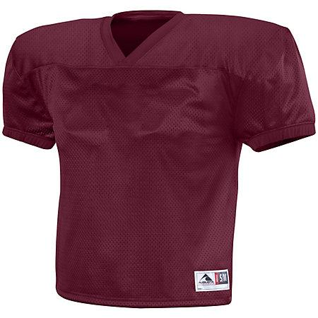 Dash Practice Jersey Maroon Adult Football