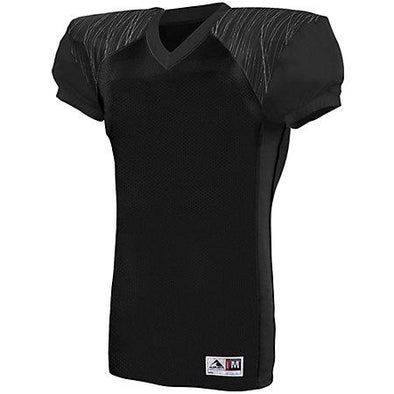 Zone Play Jersey Black/black/graphite Print Adult Football