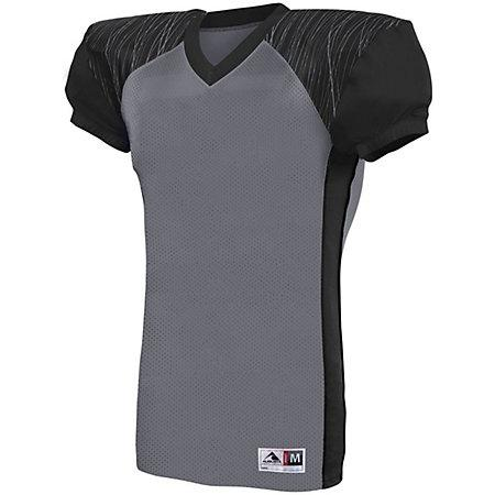 Youth Zone Play Jersey Graphite/black/graphite Print Football