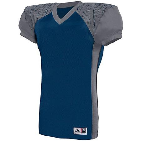 Youth Zone Play Jersey Navy/graphite/navy Print Football