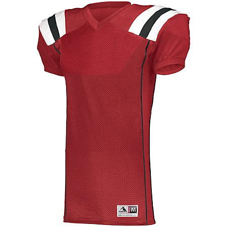 Youth Tform Football Jersey Red/black/white