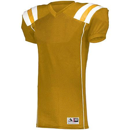 Youth Tform Football Jersey Gold/white