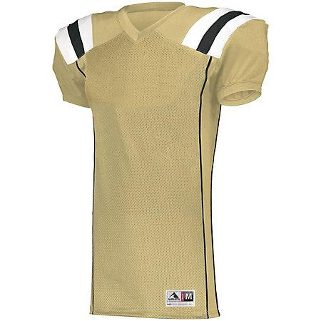 Youth Tform Football Jersey Vegas Gold/black/white