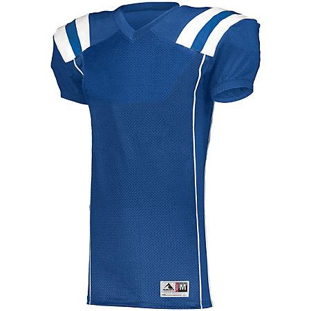 Youth Tform Football Jersey Royal/white