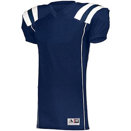 Youth Tform Football Jersey Navy/white