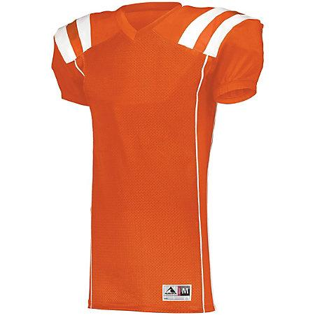Youth Tform Football Jersey Orange/white