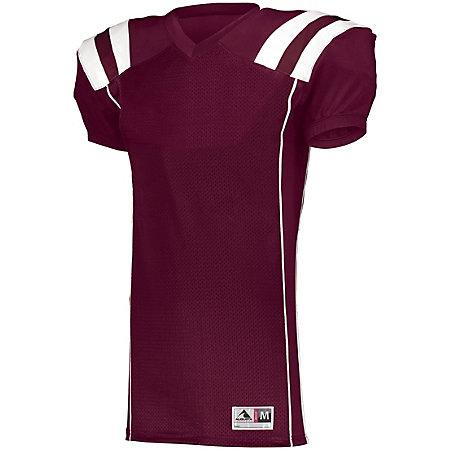 Youth Tform Football Jersey Maroon/white