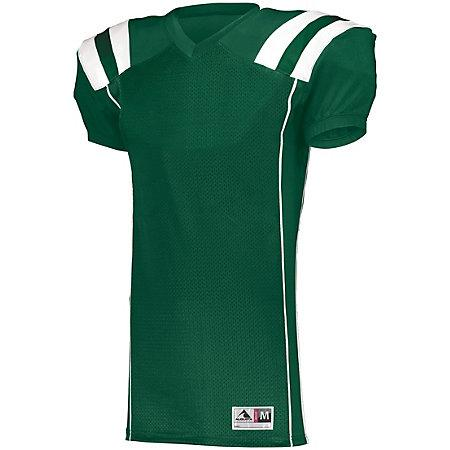 Youth Tform Football Jersey Dark Green/white