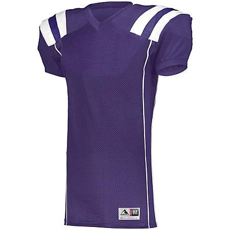 Youth Tform Football Jersey Purple/white