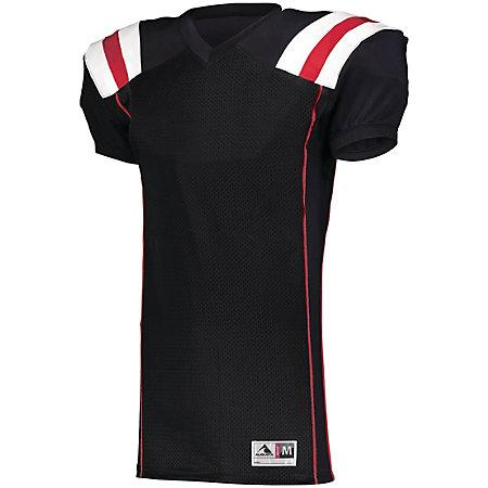 Youth Tform Football Jersey Black/orange/white