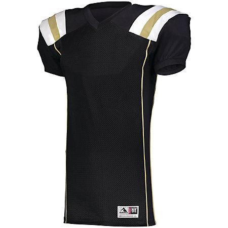 Youth Tform Football Jersey Black/vegas Gold/white