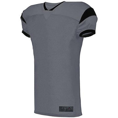 Slant Football Jersey Graphite/black Adult Football