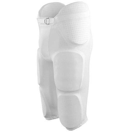 Youth Gridiron Integrated Football Pant White