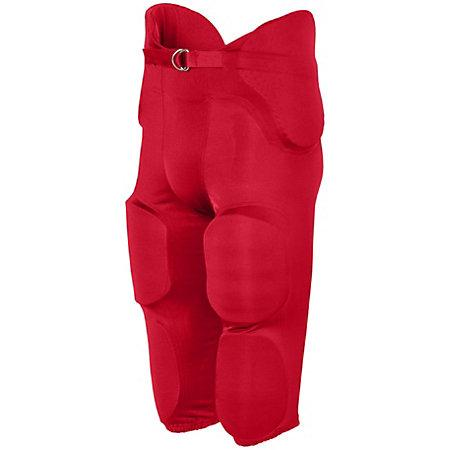 Phantom Integrated Pant Red Adult Football