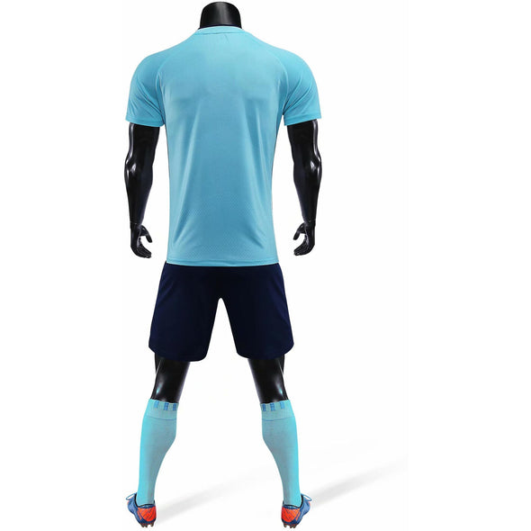 Sky Blue 170 Adult Soccer Uniforms
