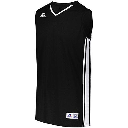 Youth Legacy Basketball Jersey Black/white Single & Shorts