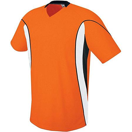 Helix Jersey Orange/white/black Adult Single Soccer & Shorts